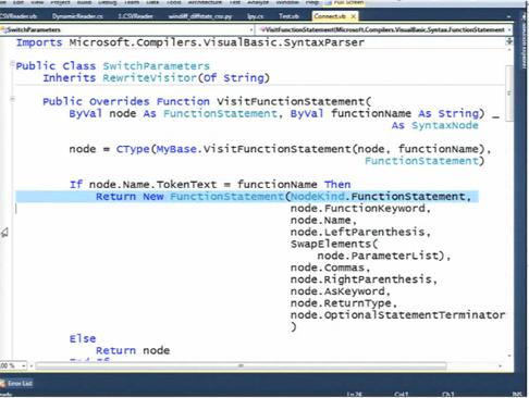 tokenization code in c#